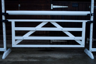 Hanging Gate (Available white or Rustic finish)